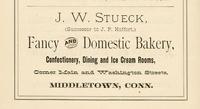 J.W. Stueck advertisement.